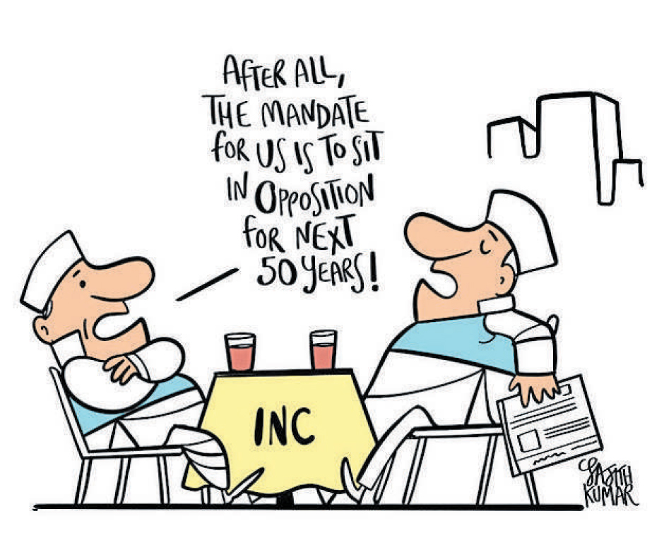 Congress, NCP to sit in opposition