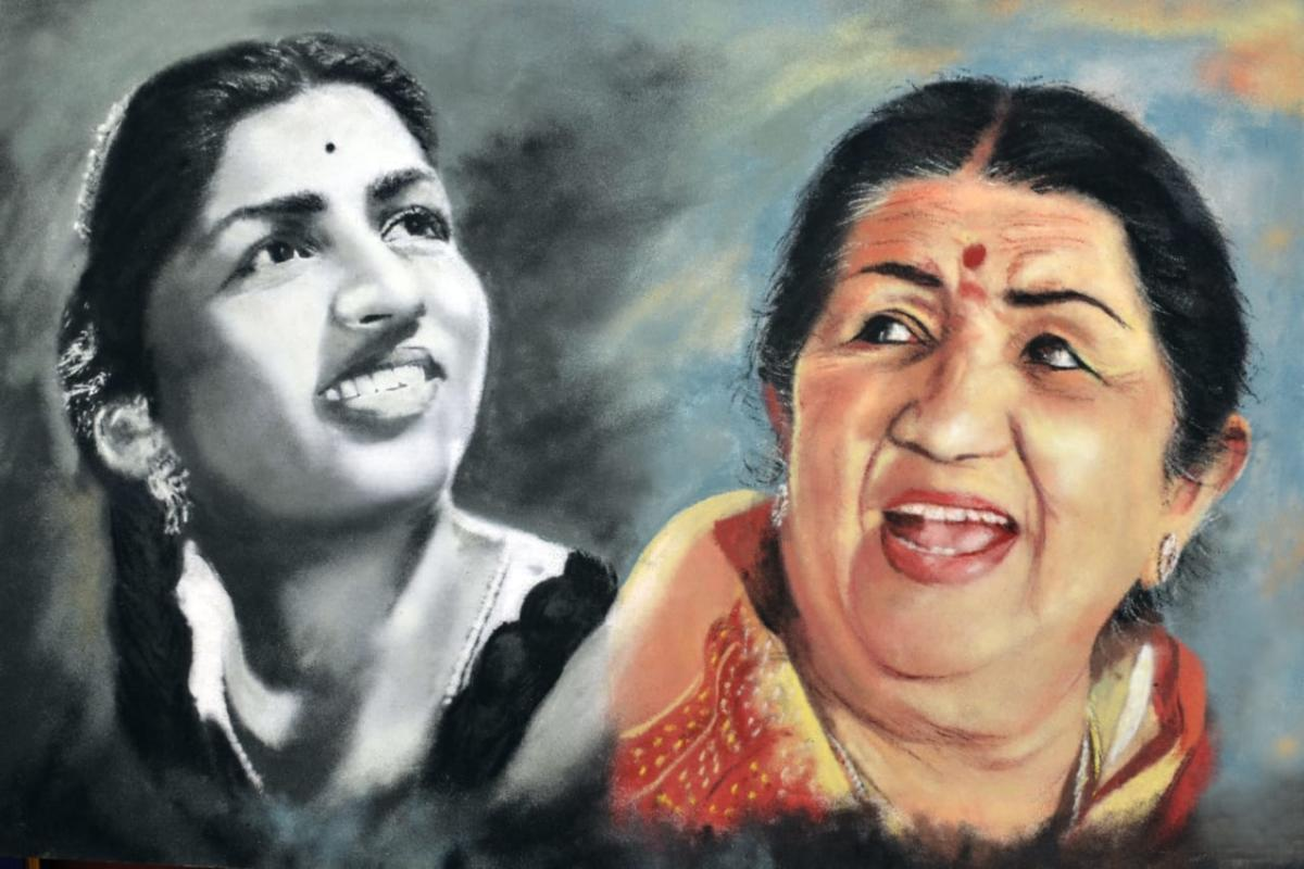 Lata fan collects 7.6k gramophone records of her songs