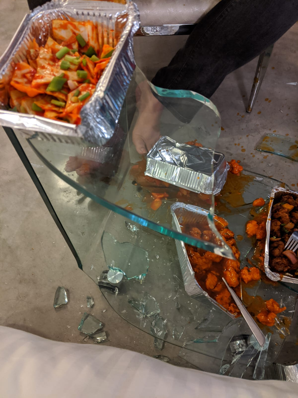 Breaking Glass Dogs German Prof At Hotel Deccan Herald