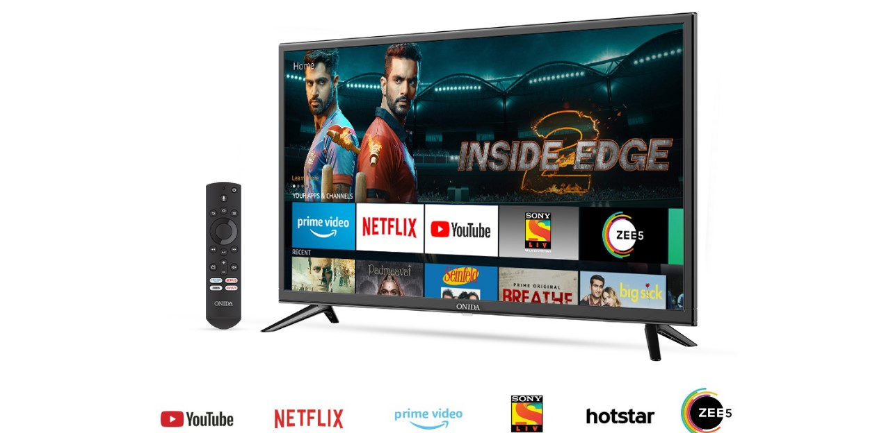 Alexa-powered Onida Fire TV smart televisions launched
