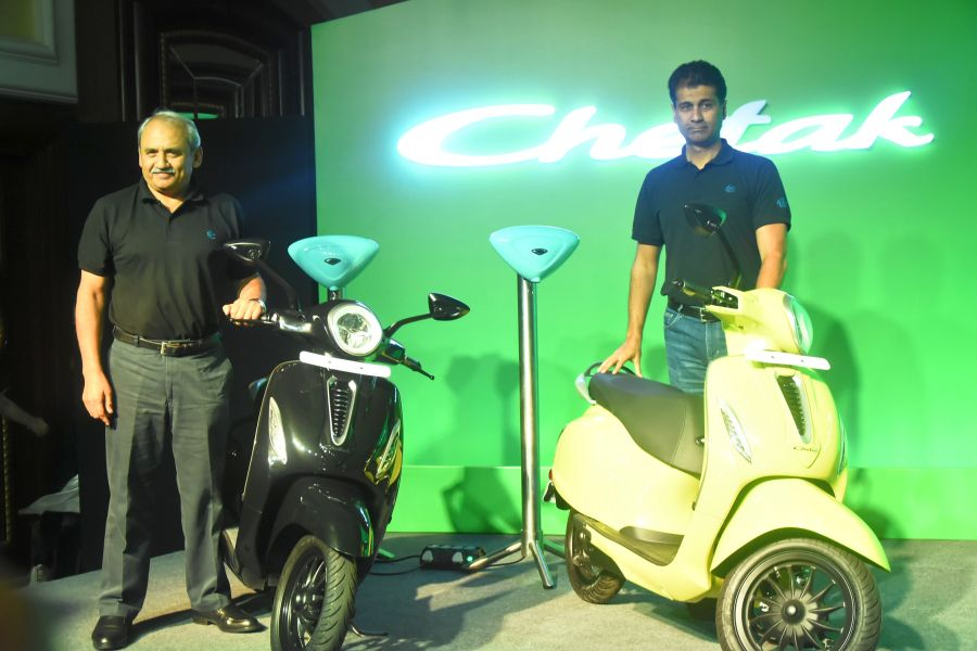 Bajaj launches Chetak electric scooter starting Rs 1L