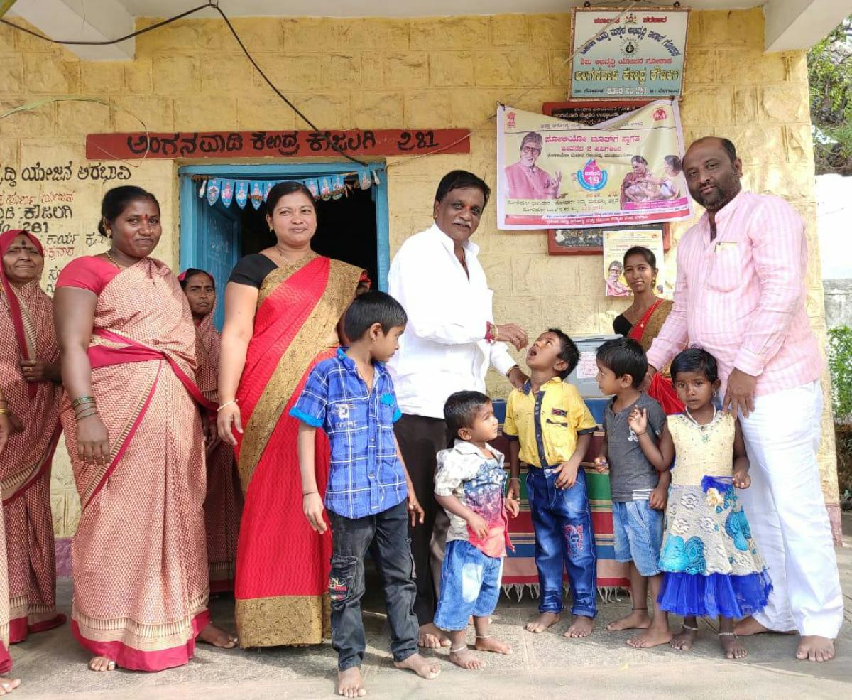 Pulse polio: 82.57% kids covered in BBMP limits