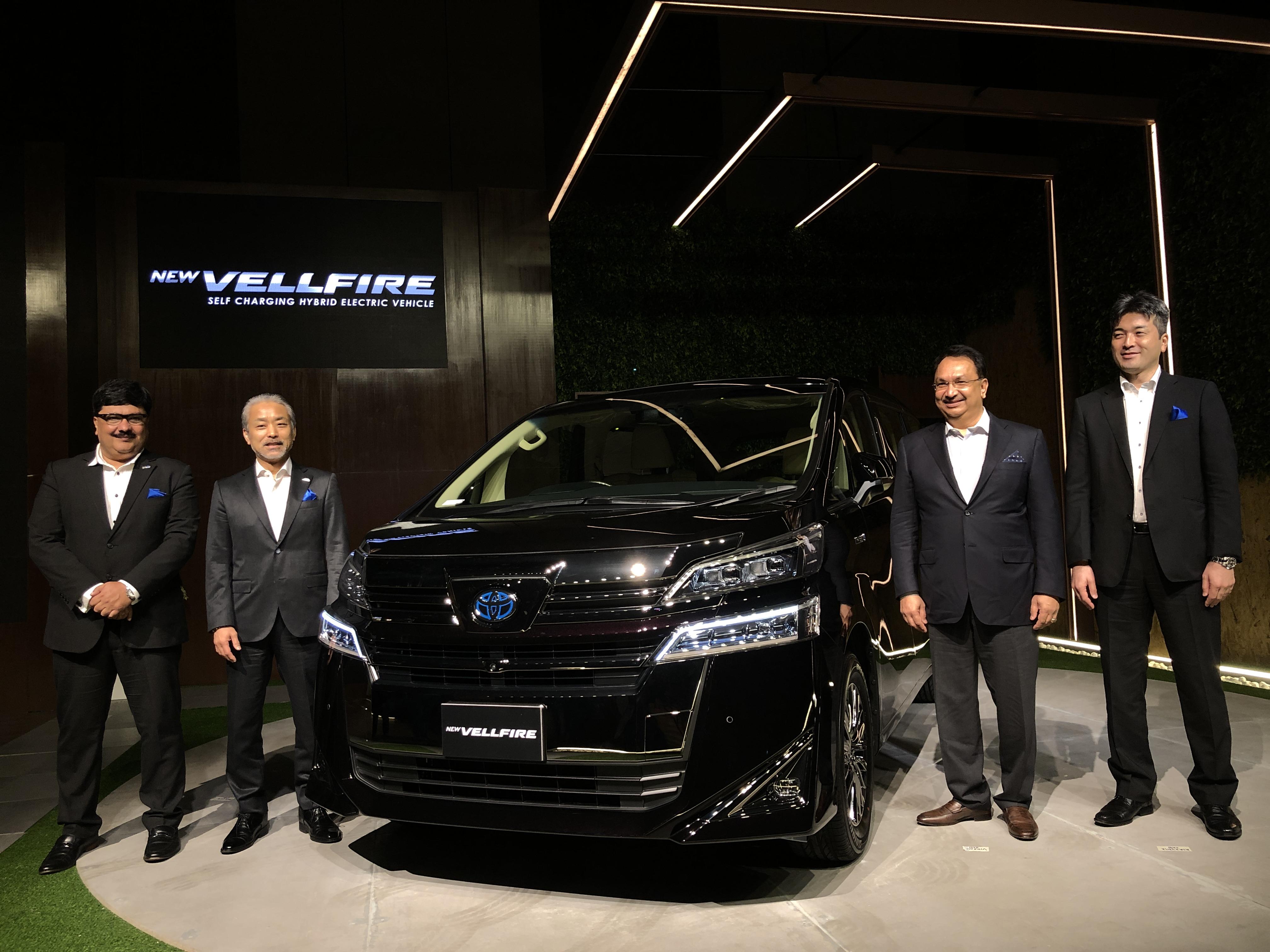 Toyota Unveils Self Charging Hybrid Electric Luxury Car Deccan