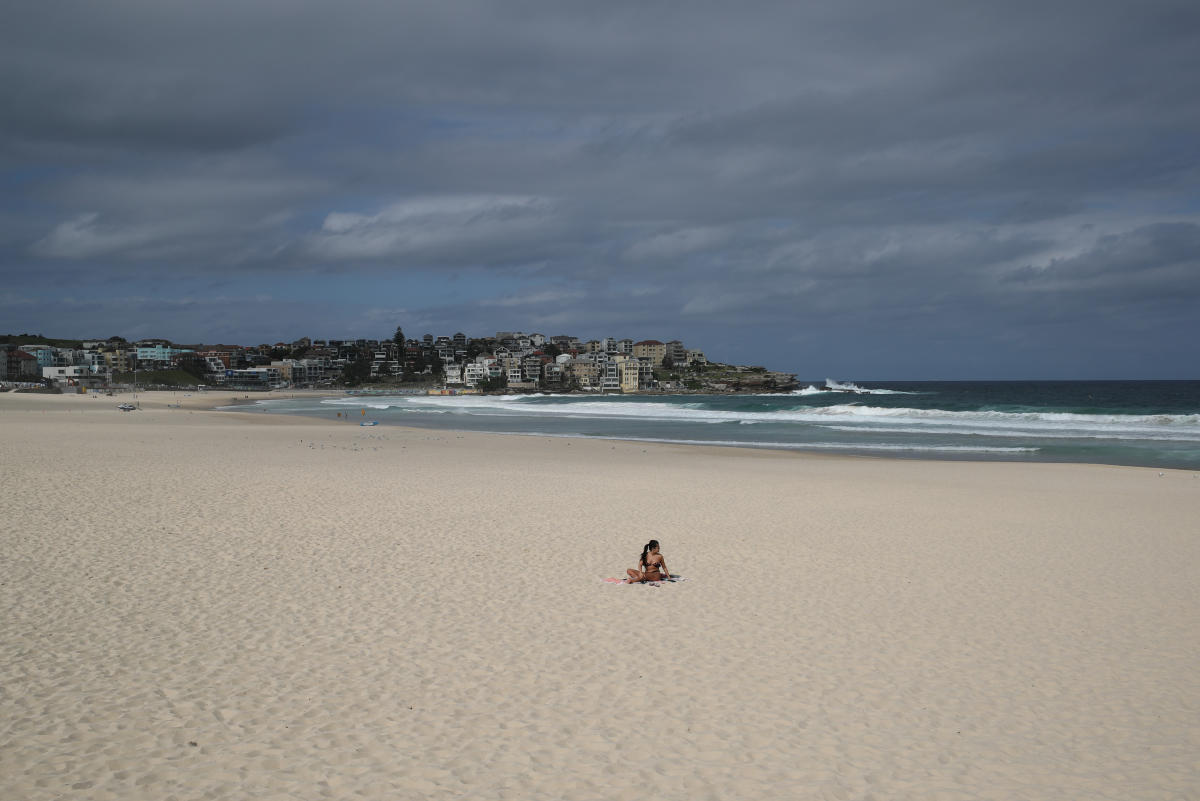 Australian Beaches Locked Down As Virus
