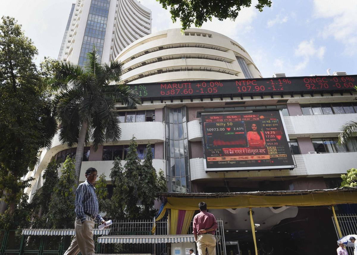 Indian markets mark their 3rd biggest gain ever; Nifty surges past 8000-mark - Deccan Herald thumbnail