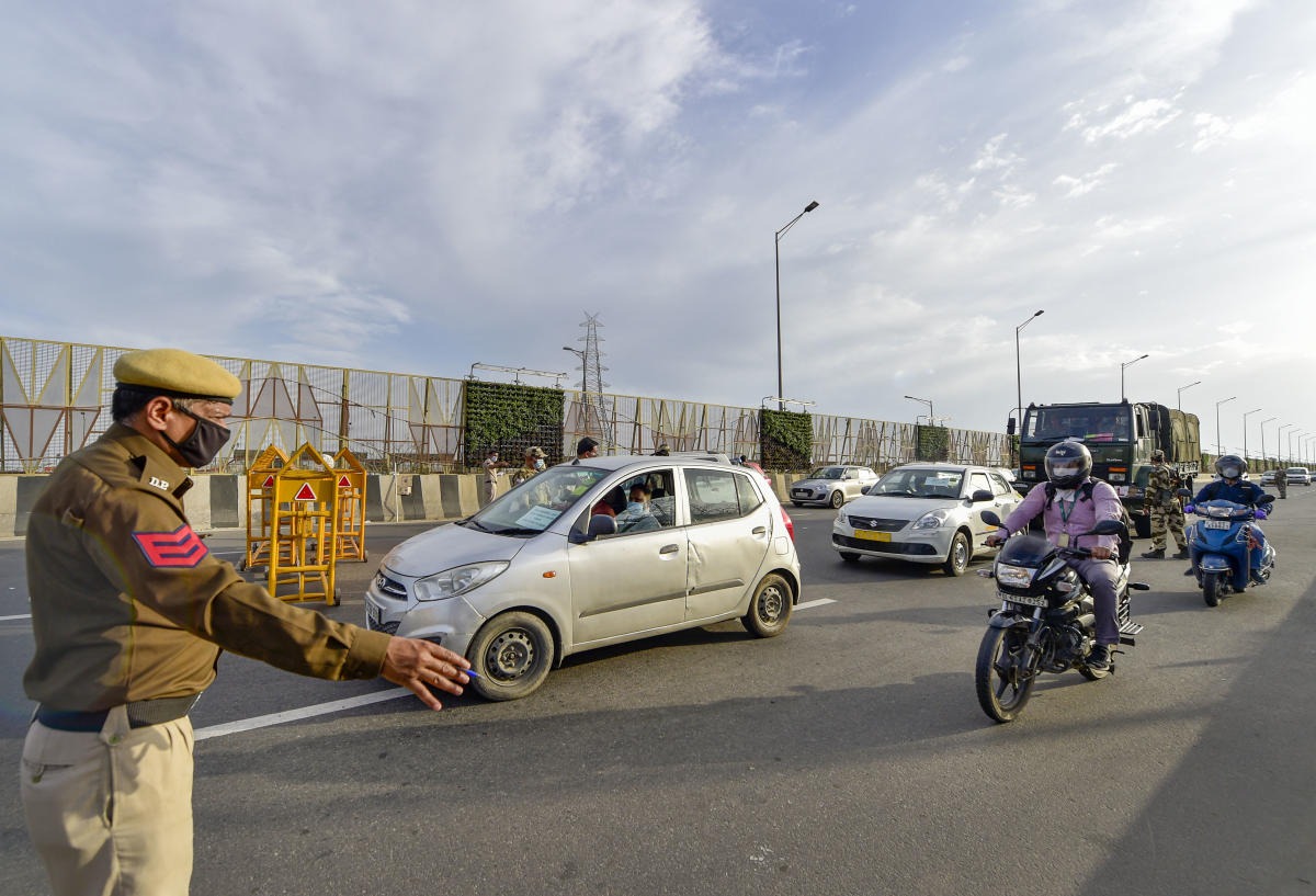 Over 3,700 detained for violation of lockdown in Delhi | Deccan Herald