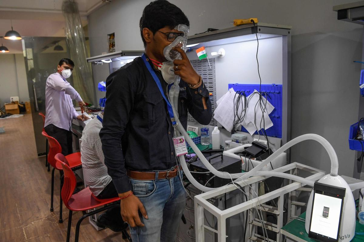 Low cost Ventilator manufacturing in India
