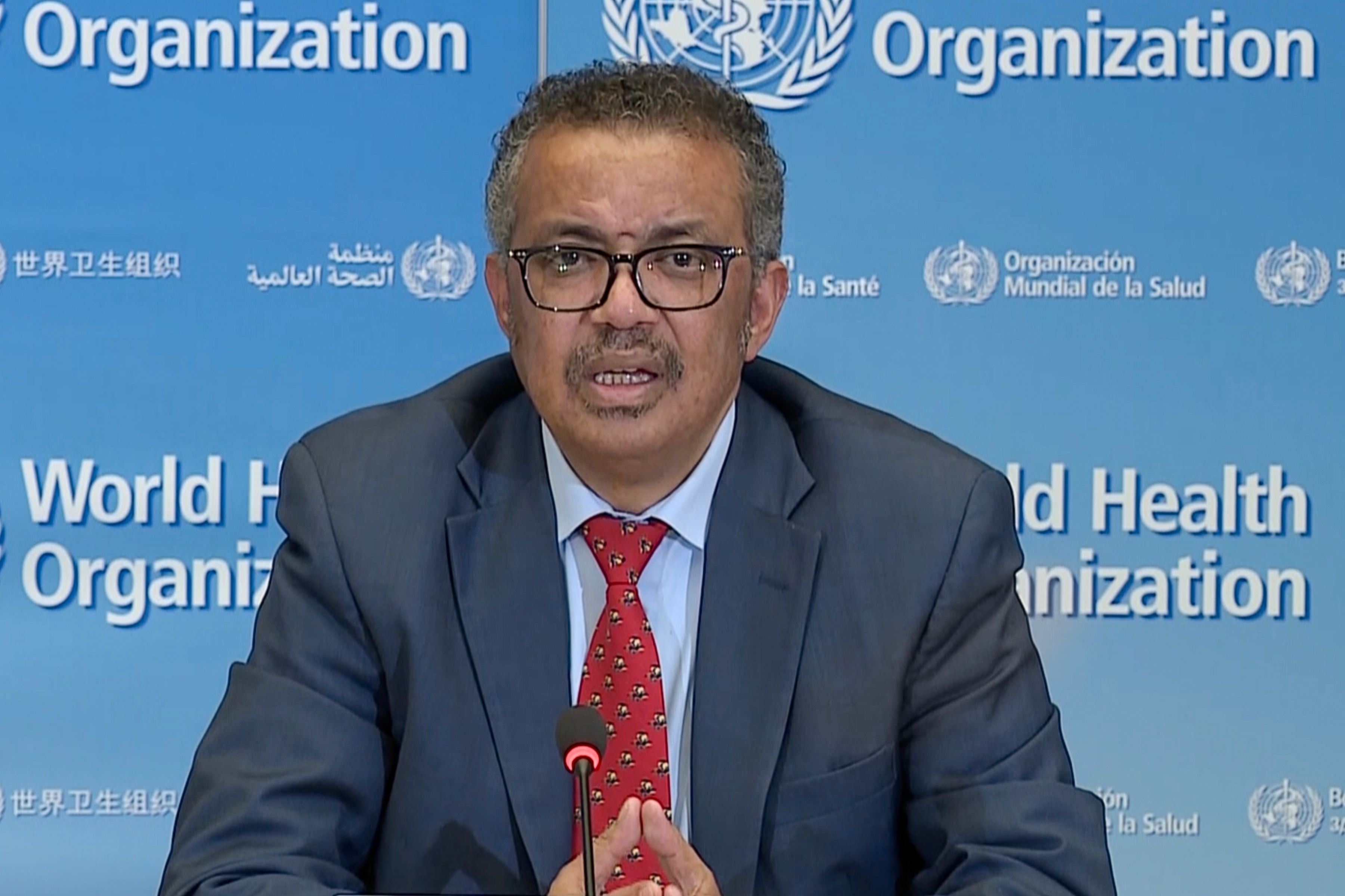 Taiwan protests WHO leader Tedros's accusations of racist remarks against him | Deccan Herald