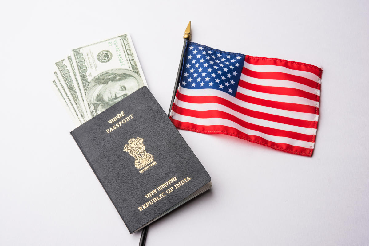 Comparatively in 2016, a little over 10 lakh Indians visited the US on B-1, B-2 visas. As many as 17,763 overstayed in the US. (Image for representation)