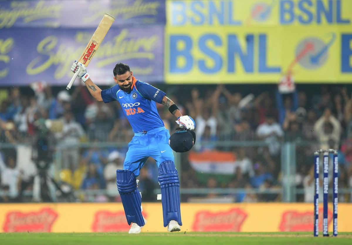 The 29-year-old surpassed fellow Indian batting great Sachin Tendulkar, who first crossed the 10,000-run mark in 259 innings in 2001. (AFP Photo)