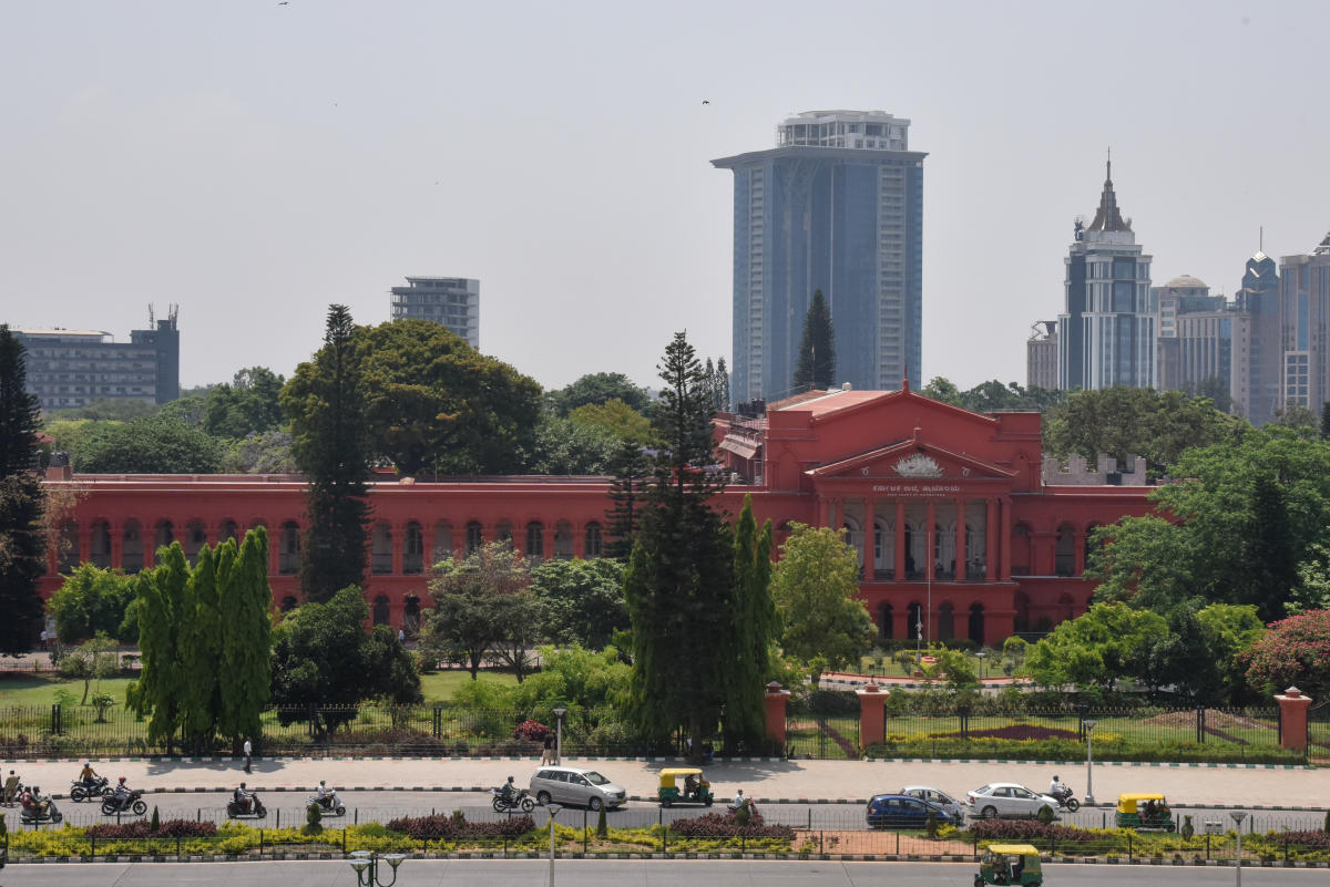 The court questioned the government counsel whether Rs 10 crore would be enough for purchasing land. and observed that the affidavit was incomplete. (DH File Photo)