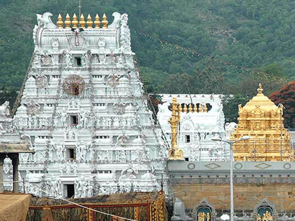 Andhra Pradesh government on Friday appointed 18 members to the Trust Board for the Tirumala Tirupati Devastanam (TTD) with Putta Sudhakar Yadav of Kadapa district as the chairman, despite opposition from the right-wing groups. DH file photo