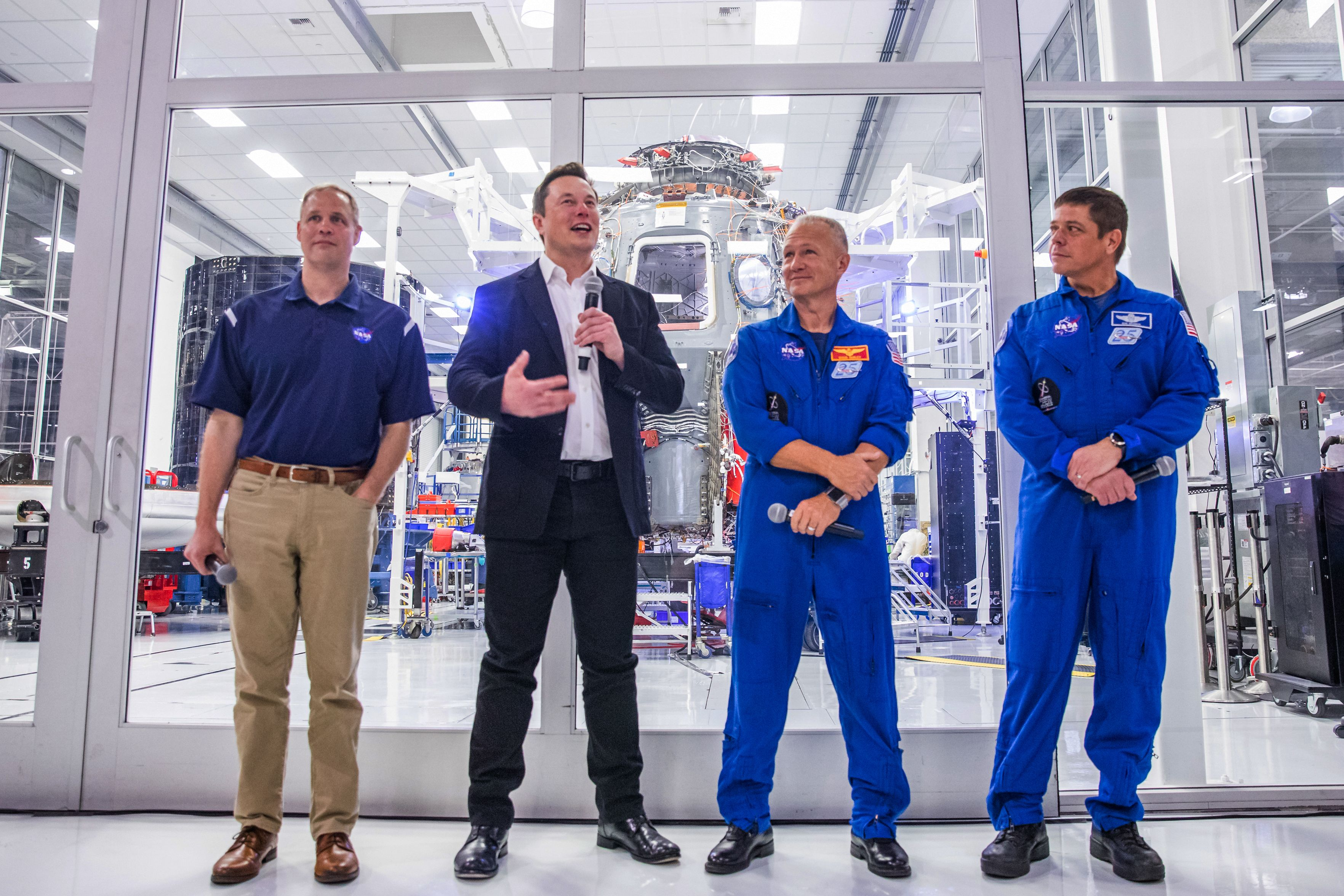 SpaceX to bring astronauts to short-handed Space Station for ...