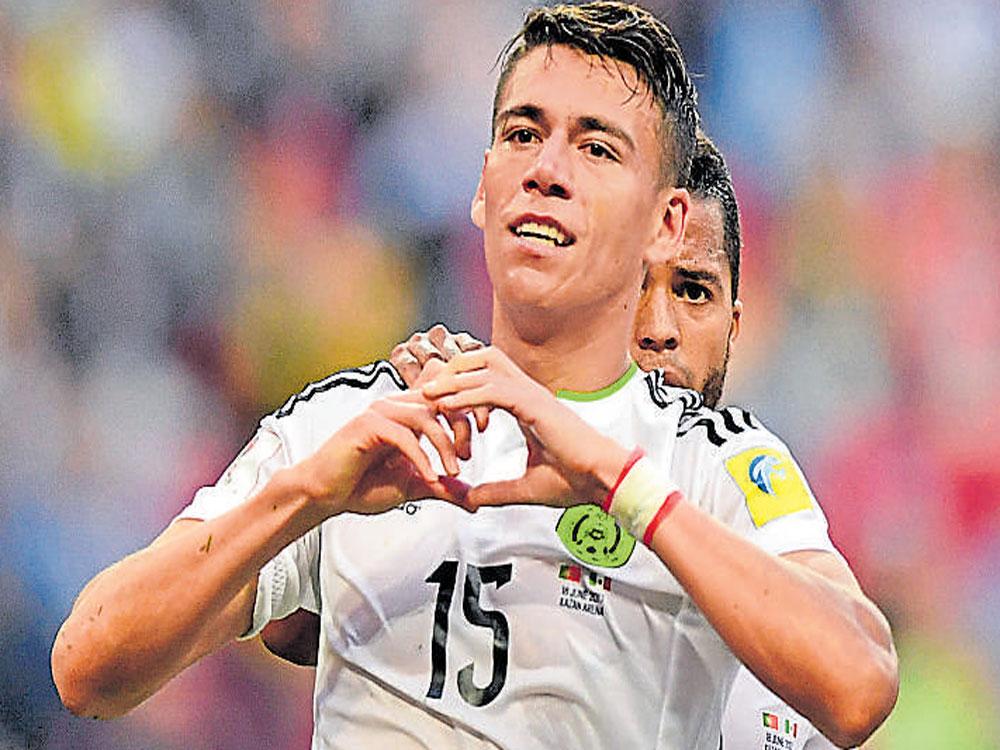 Moreno strikes late as Mexico hold Portugal