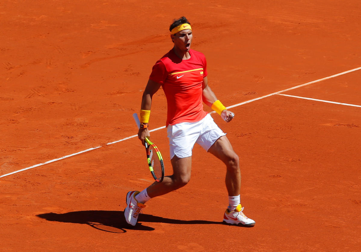 Rafa to the rescue? Nadal to face Zverev with Spain fate in his hands