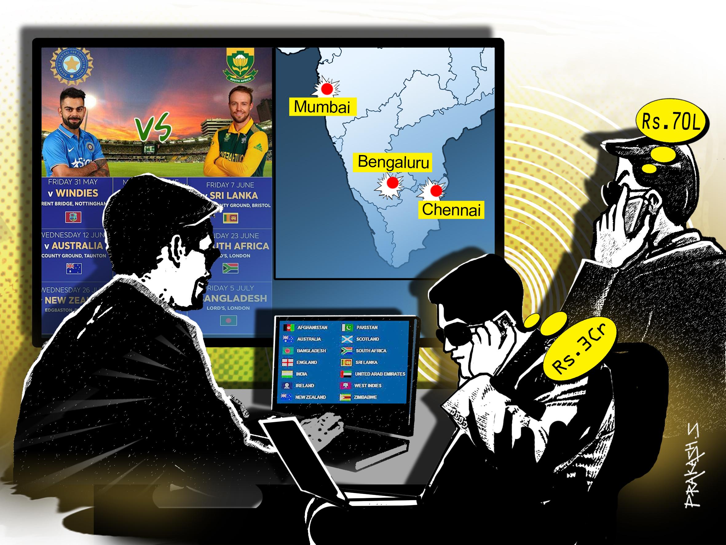 Indian betting cricket nba referee betting stats nhl