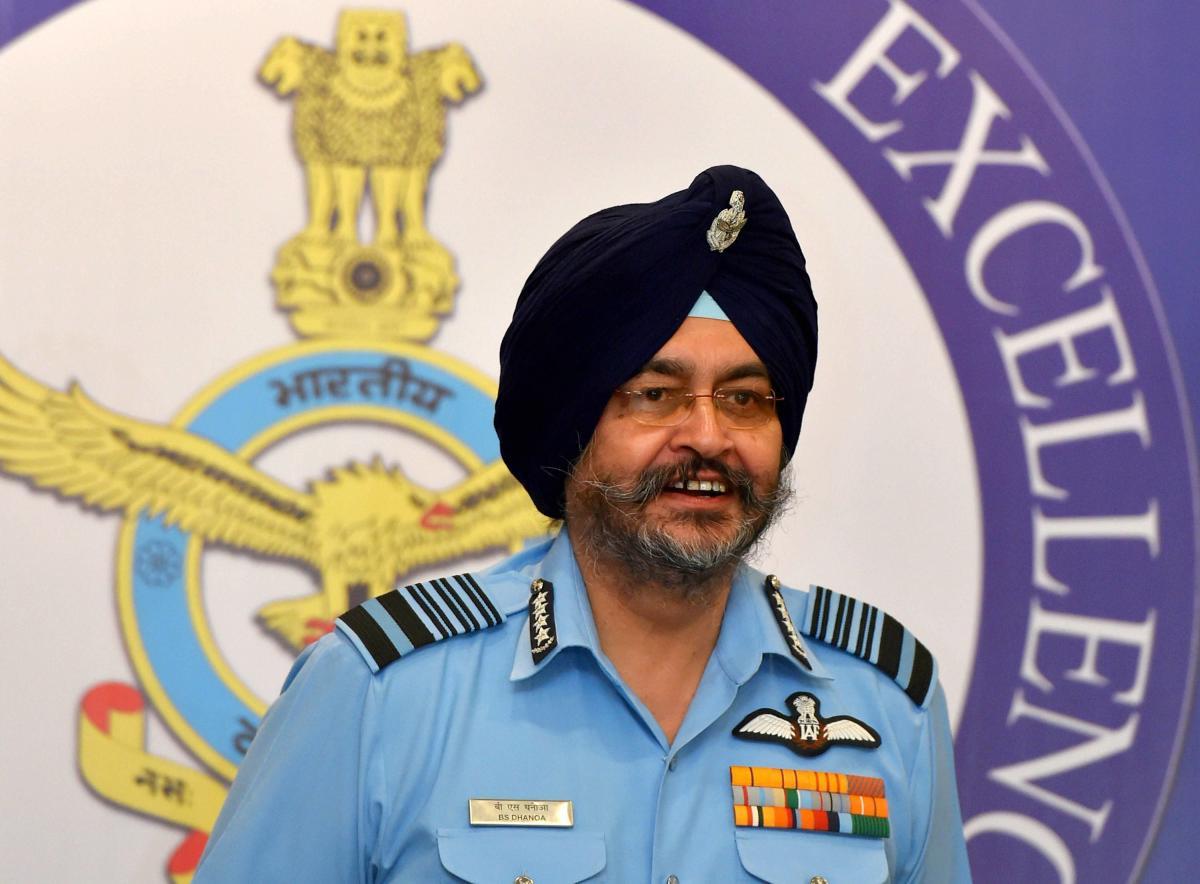 Air Chief Marshal BS Dhanoa. PTI file photo