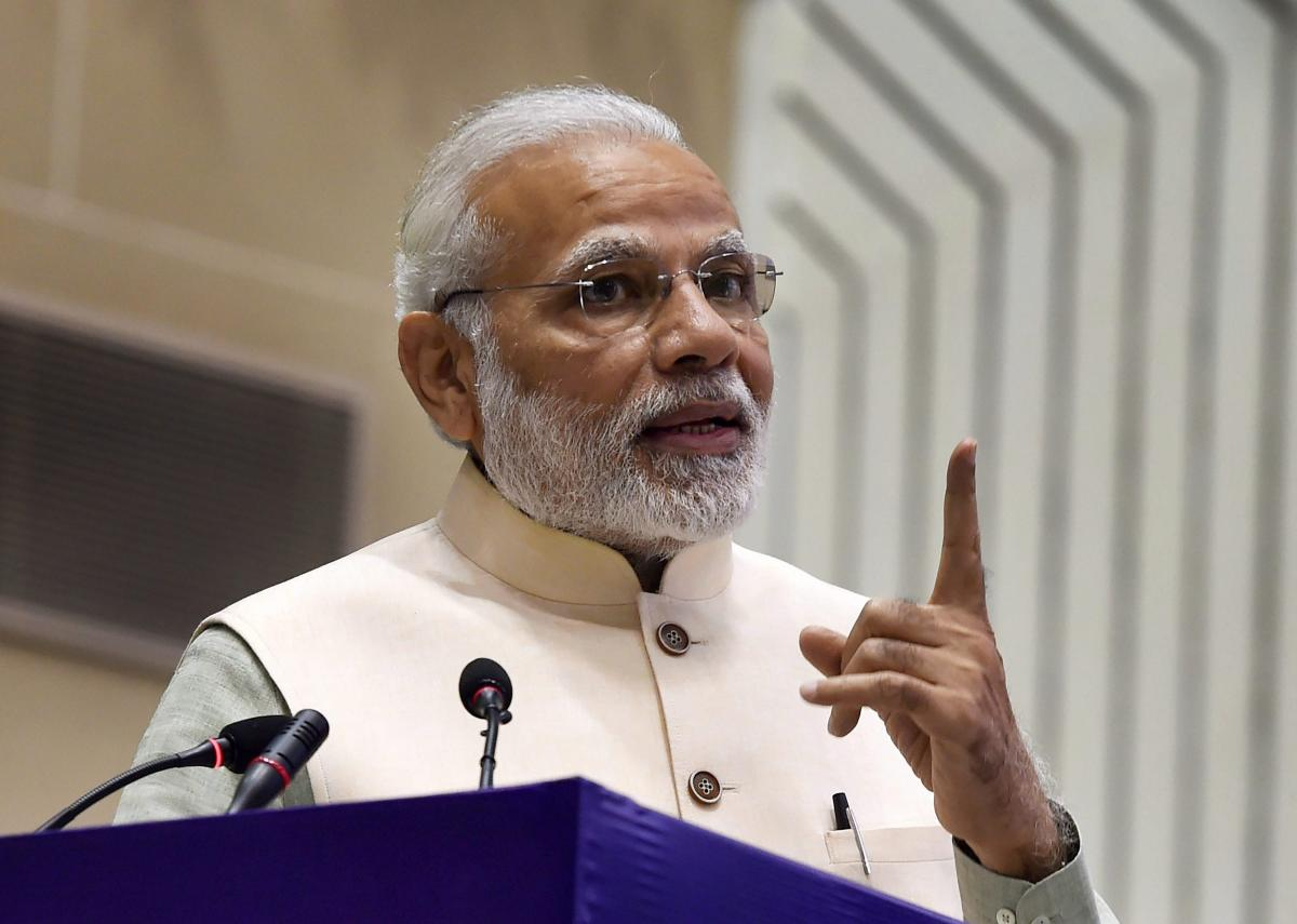 Modi said that participatory democracy is a must for the development of the nation.