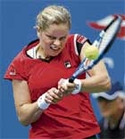 Clijsters back with a bang