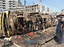 50 killed in bomb blast in Peshawar