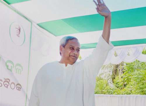 Naveen elected BJD president for 7th term