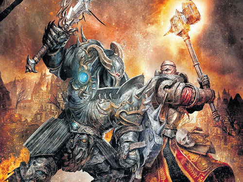 Warhammer, a blend of strategy and high fantasy
