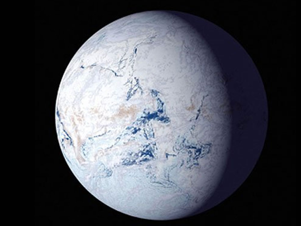Storm of fire, ice led to 'snowball Earth' 700 mln years ago