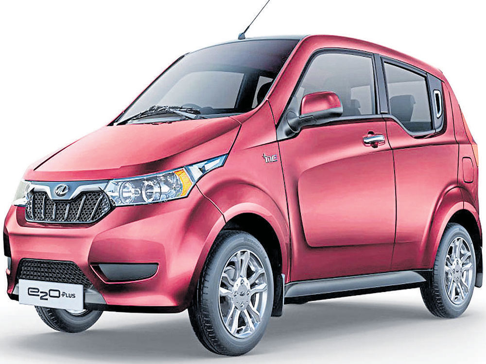 e2o Plus: India's first electric family car