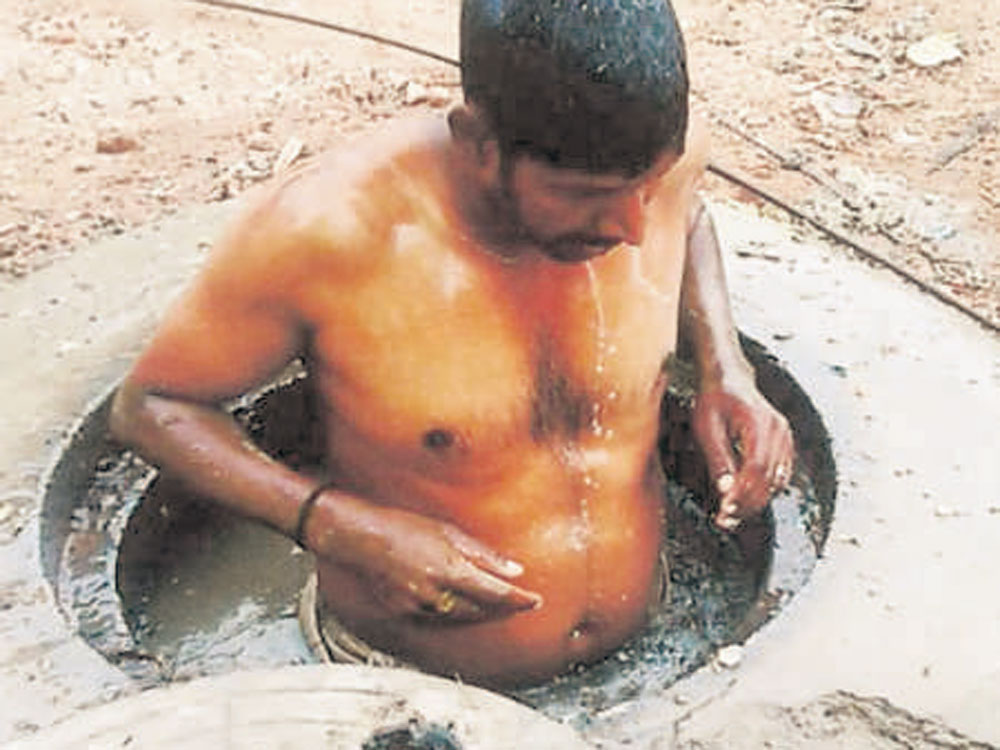 GP chief in manual scavenging controversy