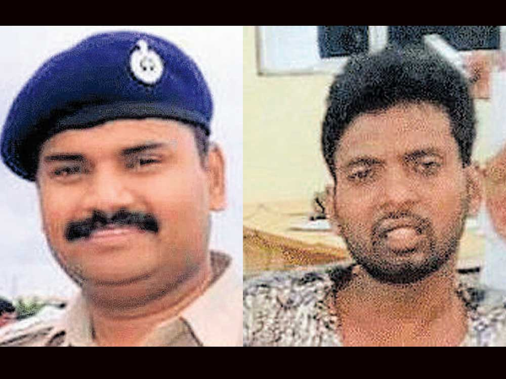 Cop fires at rowdy for second time in 4 months