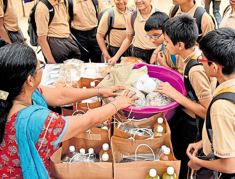 Schoolkids learn to grow their own food
