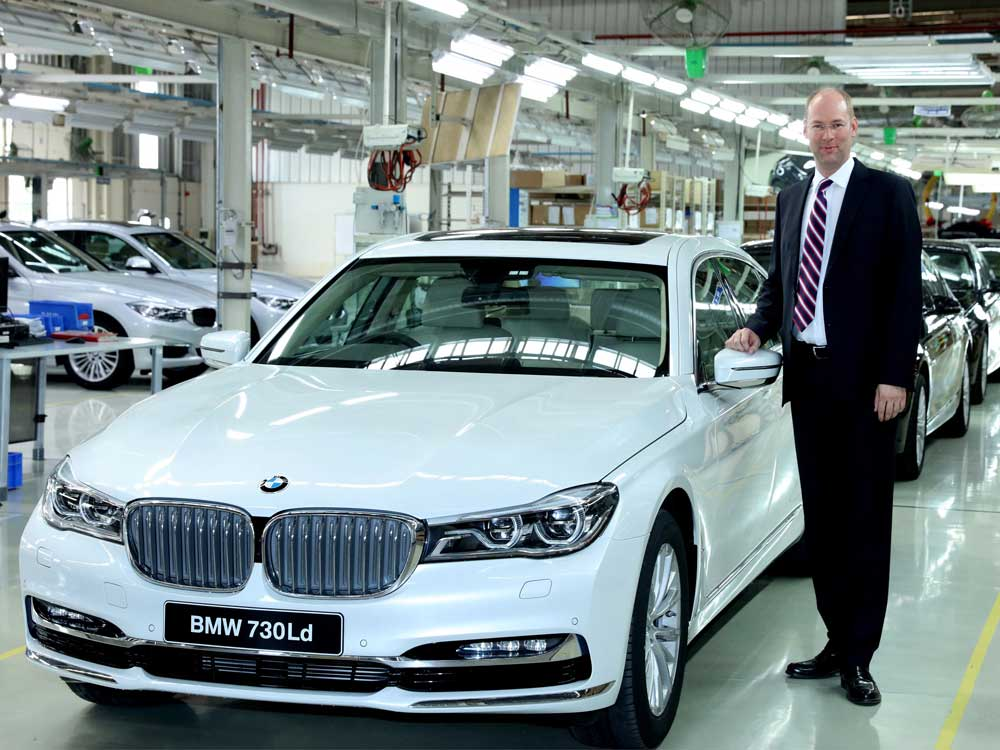 BMW to invest Rs 130 cr in India to rev up operations