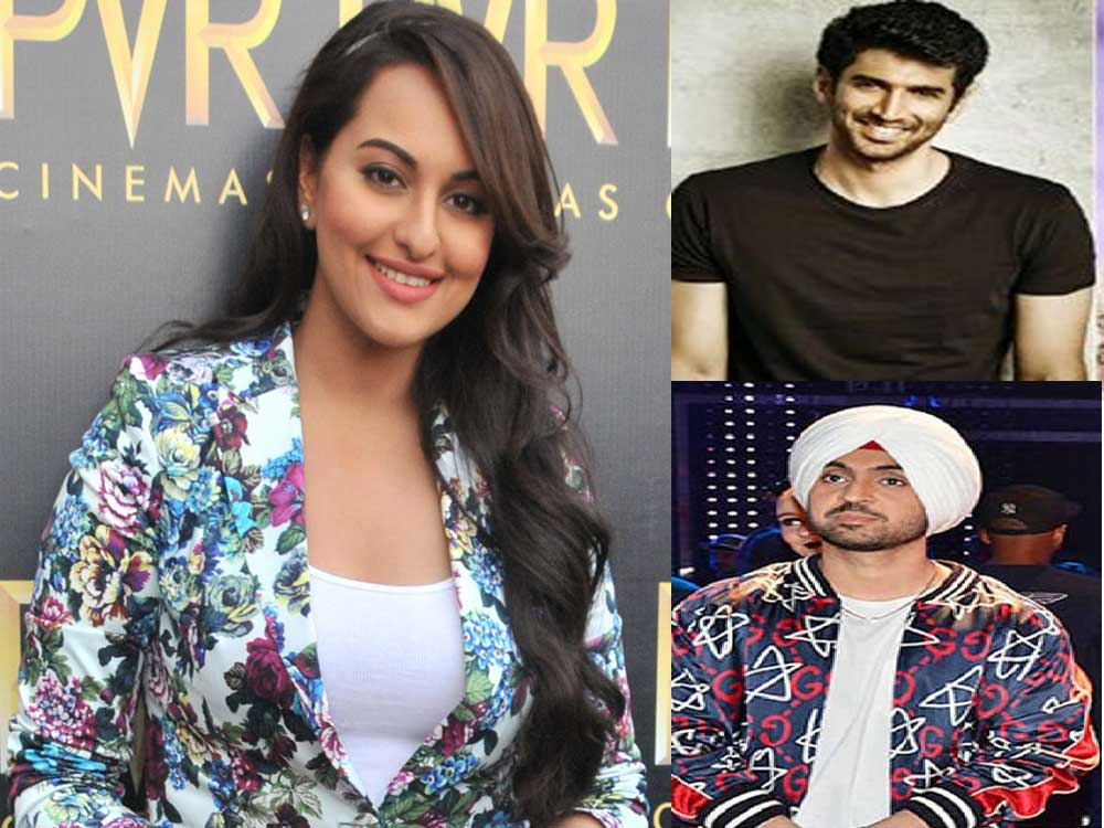 Sonakshi, Aditya and Diljit to team up for a film