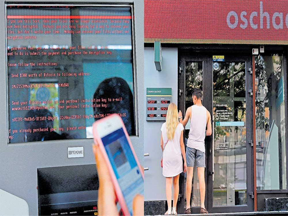 Cyberattack that struck firms across world