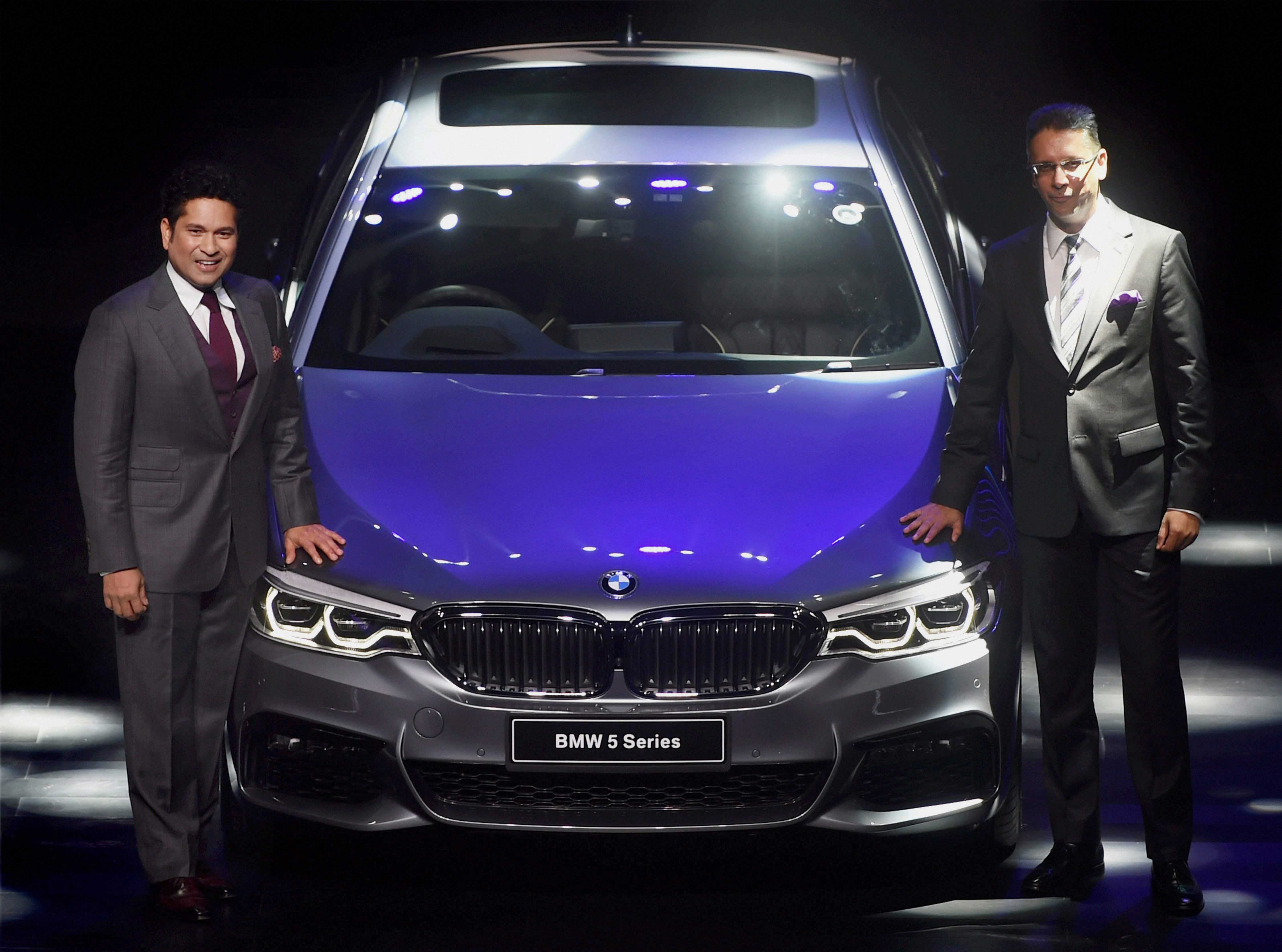 BMW unveils all-new 5 Series range in India
