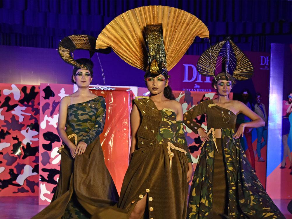 Glimpses Of Dh Metrolife Fashion Show Slideshow Deccan Herald