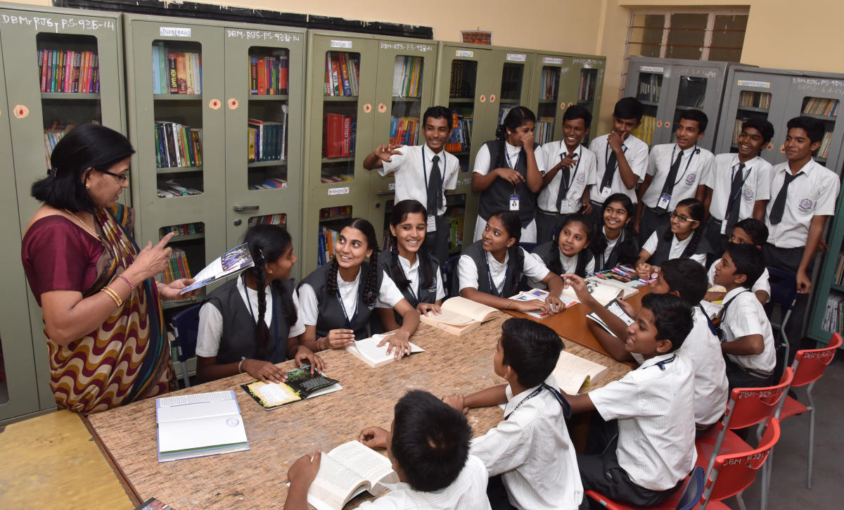 Moulding the social behaviour of students