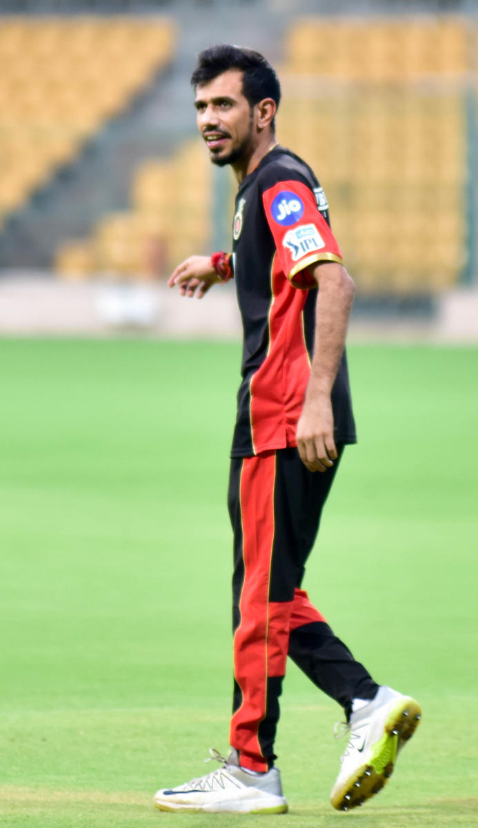 Chahal back at his favourite ground