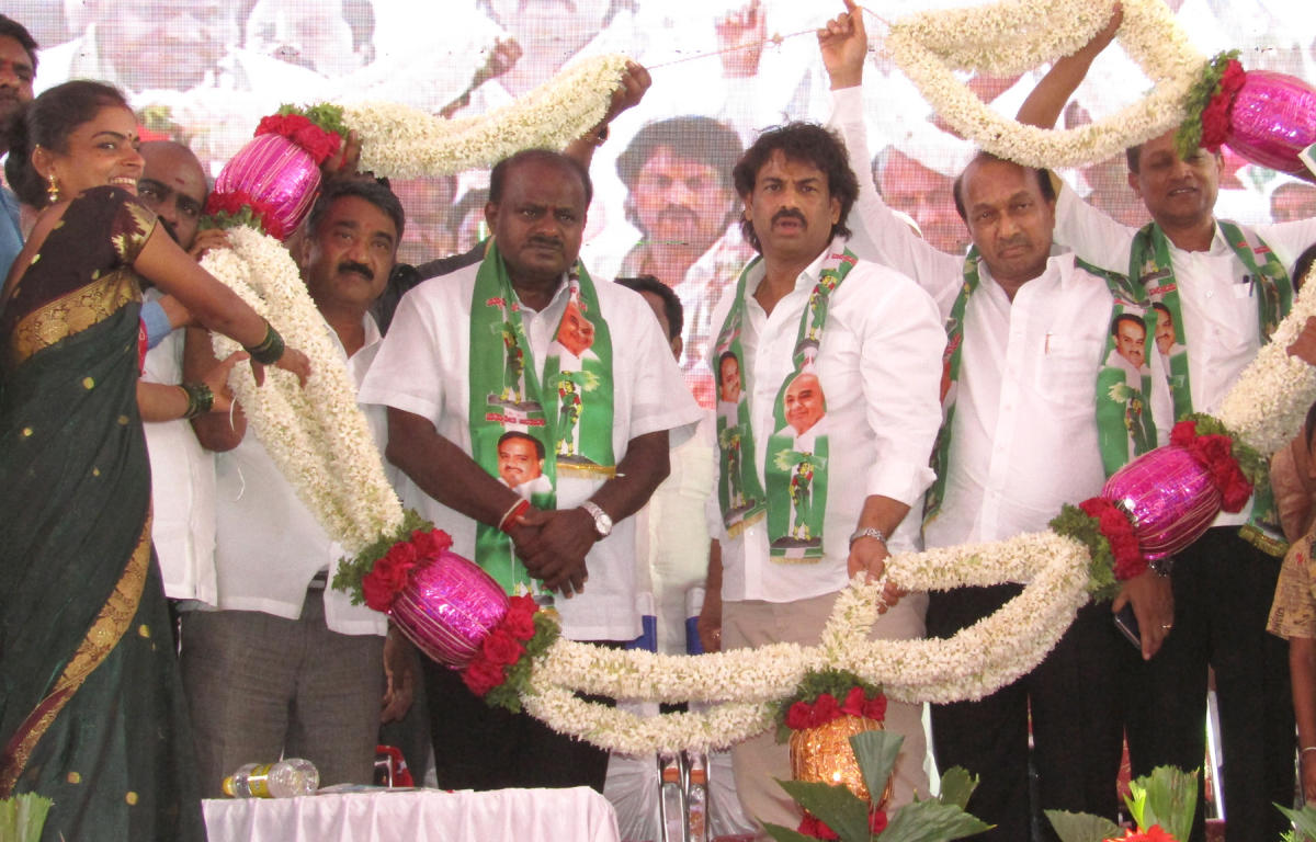 HDK targets BSY on home turf, says he set new records in graft
