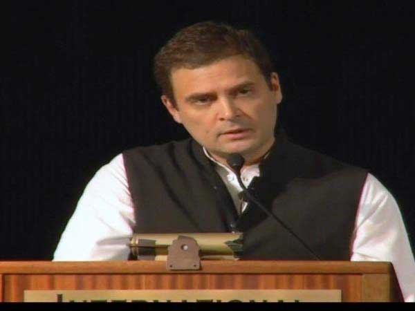 Rahul Gandhi flayed for silence on water woes