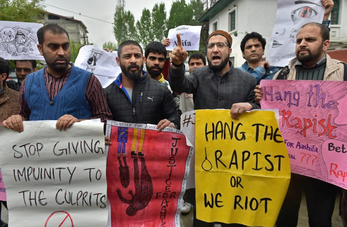 Kathua chargesheet: 8-year-old raped again before being stoned to death