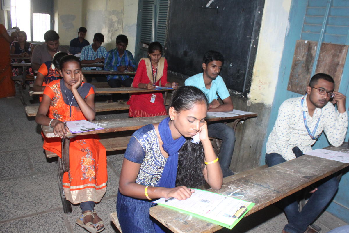 Candidates who clear the paper will be eligible for admission to first year or first semester courses in engineering, technology, farm science, pharmacy, AYUSH (Ayurveda, Yoga and Naturopathy, Unani and Homeopathy), architecture, medicine and dentistry for the academic year – 2019. (DH File Photo)