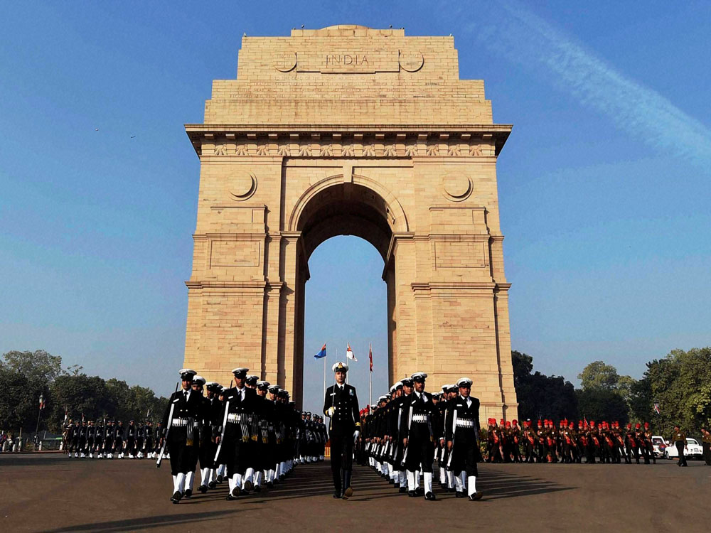 The iconic and grandiose India Gate vista is all set to change permanently as the National War Memorial is now ready for inauguration. PTI file photo