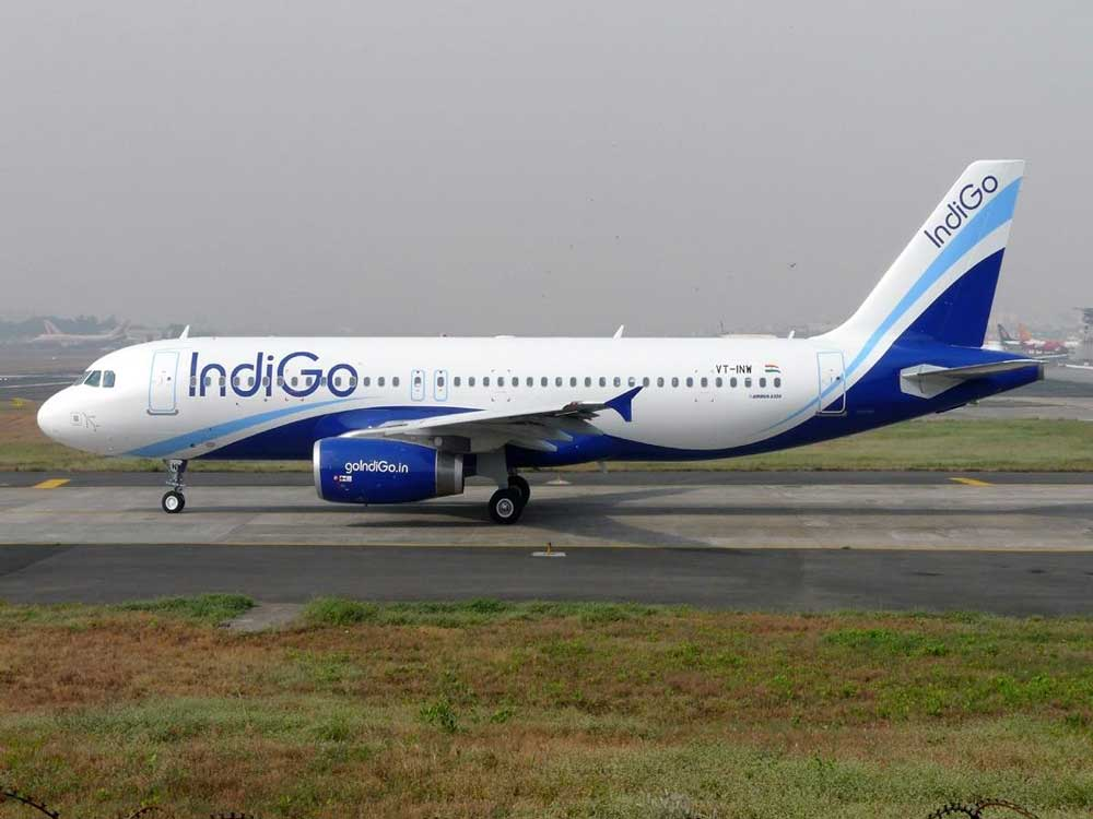 IndiGo is the country's largest domestic carrier with a market share of about 40 percent.