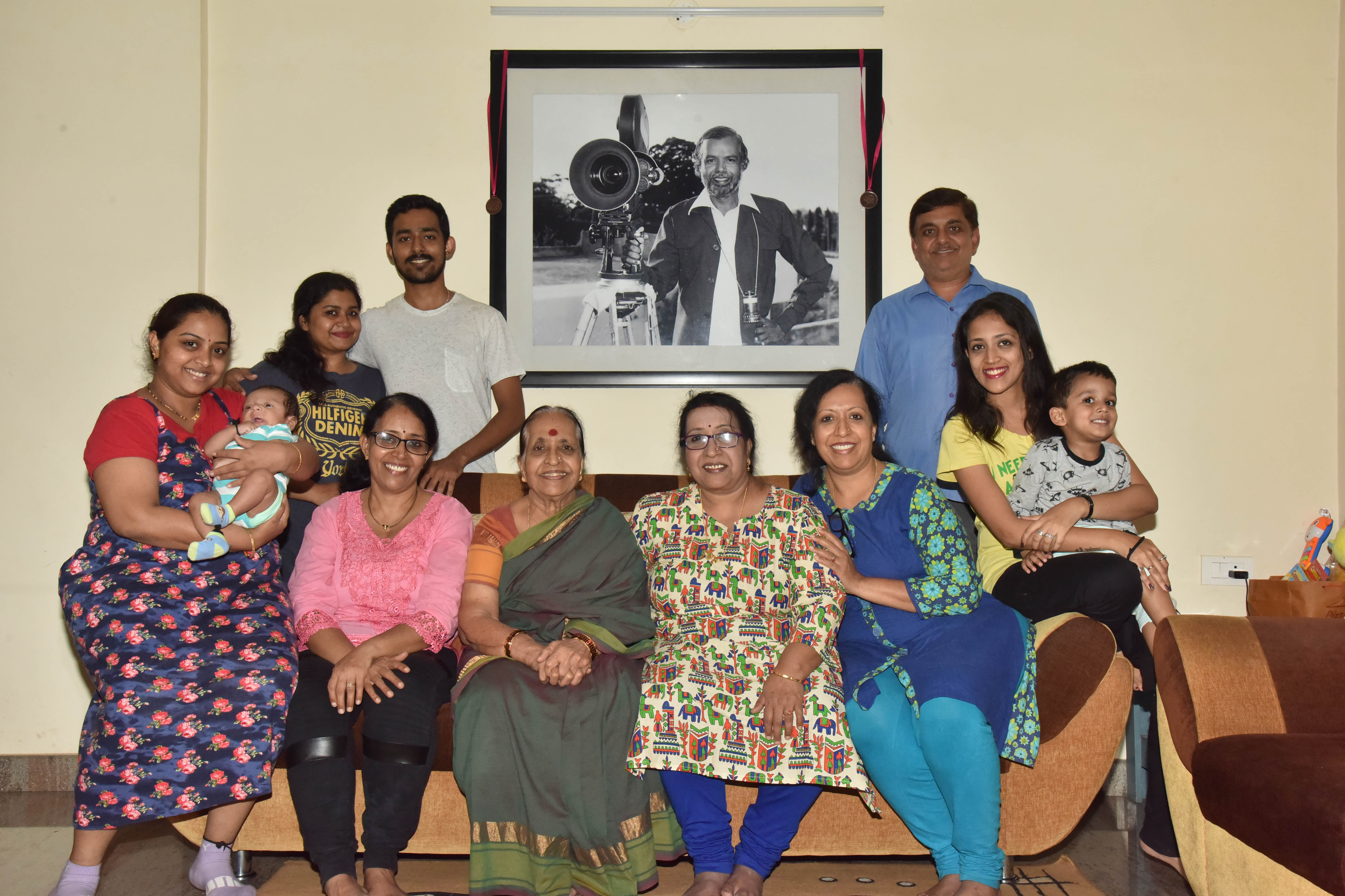 On Metrolife's suggestion, the iconic director's extended family meets and recalls his life and times