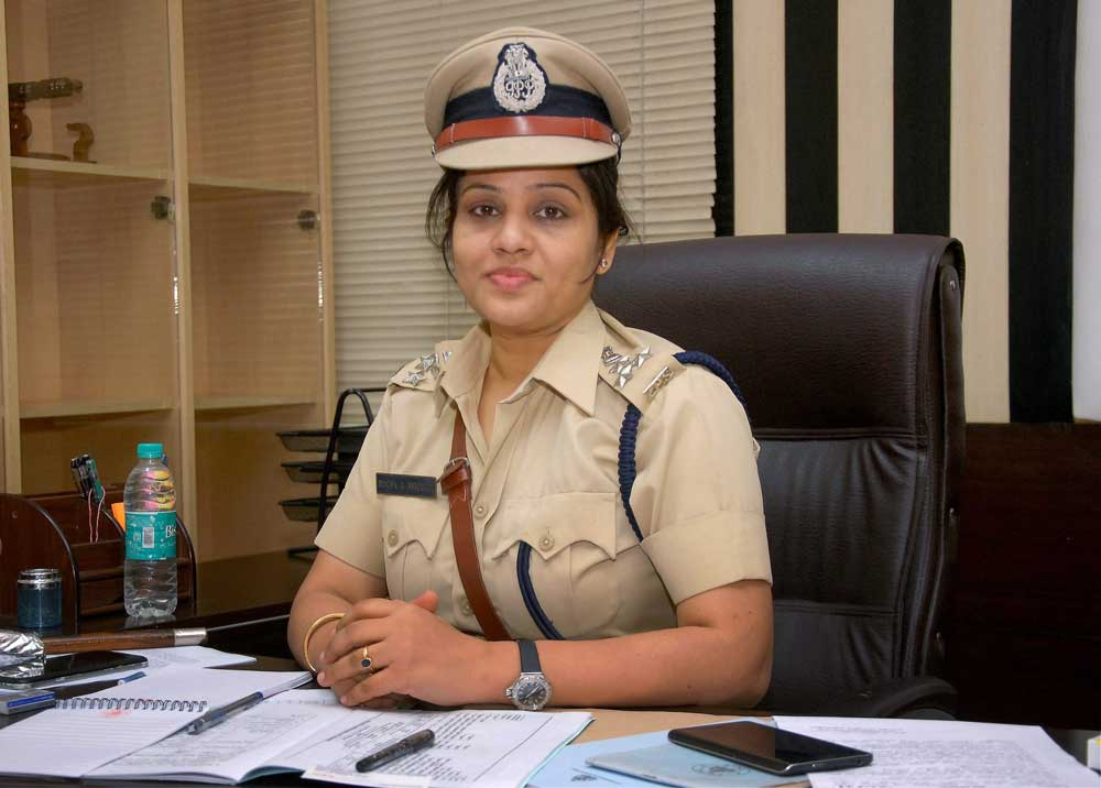 Roopa D, IGP and Additional Commandant General, Home Guards. DH file photo