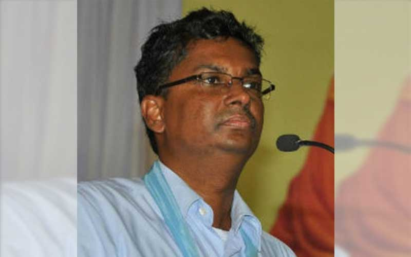 Satish Jarkiholi was speaking to a section of media here on Saturday. (DH File Photo)