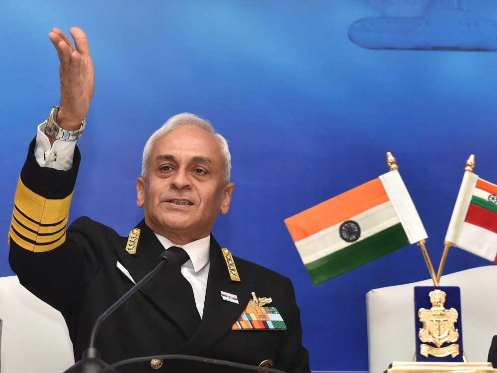 Lanba also assured the country that the Navy is keeping round-the-clock vigil on India's maritime domain.