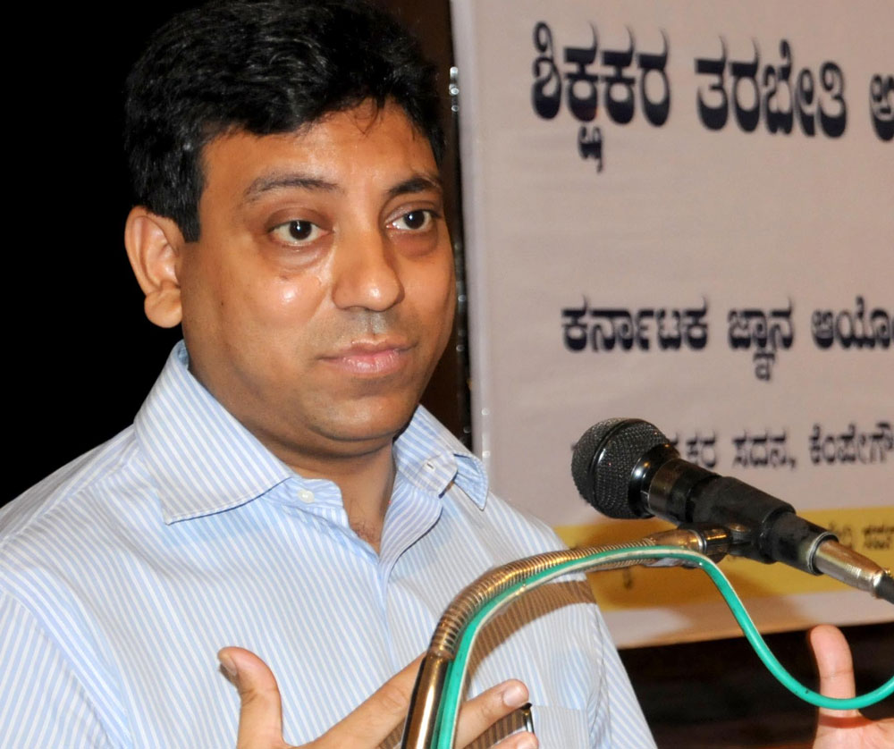 Tushar Girinath, chairman of the Bangalore Water Supply and Sewerage Board