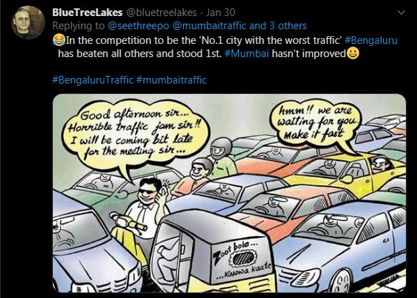 City S Traffic Woes Turn Meme Fodder Deccan Herald